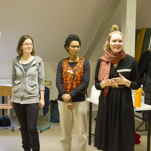 Nachgefragt hoch drei - Expert*innengespräch an der Montessori-Gemeinschaftsschule Berlin-Buch